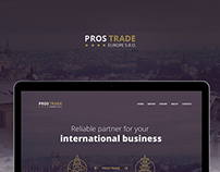 PROS Trade - International business