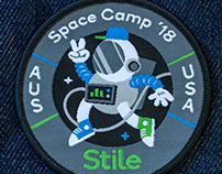Space Camp 18' Patch