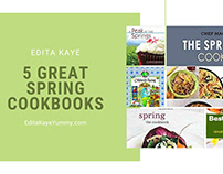 5 Great Spring Cookbooks