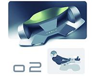 TESLA o2 HYPERLOOP RACER