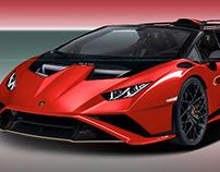 2021 Lamborghini Huracan STO Spyder