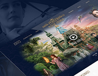 Miss Peregrine's Landing Page Redesign