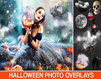 Halloween Photo Overlays