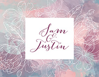 Wedding Design- Sam & Justin