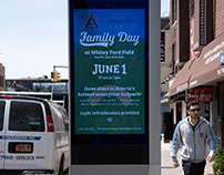 Friends of Whitey Ford Field LinkNYC Ad