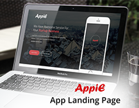 AppiE - App Landing Page UI Template