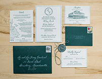 Kelsey & Curt Wedding Invitations