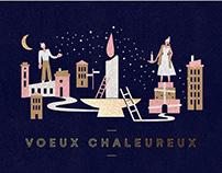 Carte de Noël Laval