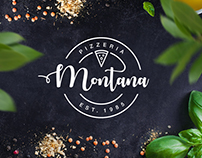 Montana Pizza branding & website