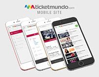 Ticketmundo: UI Mobile