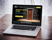 "The ""Door Ministry"" Landing Page"