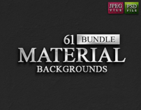 61 Material Backgrounds Bundle - Only $8