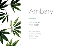 Ambary CBD Skincare (iii) Trend Report