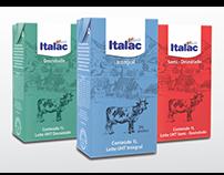 Redesign da Embalagem de Leite Italac
