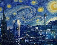 Ankara Starry Night