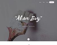 Ahwe Boy Painting Solution Website