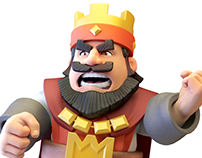 King from Clash Royale