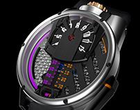 Barrelhand timepieces