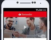 WebApp - Santander