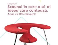 Hansen Office Design - 40% campaign