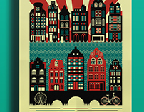 "Poster ""Amsterdam Culture"""