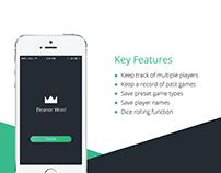 'No Dice' Score-Keeping App