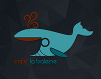 Logo for Cafe La Baleine