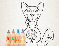 Illustration | Happy Animals