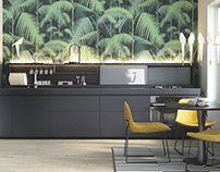 SMART kitchen by 100% INTERIOR for INSTYLE