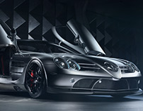 Mclaren Mercedes SLR 722 Beauty Shot