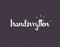 Handwrytten Brand and Video
