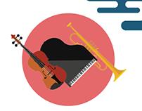 Bradley Symphony Orchestra Poster
