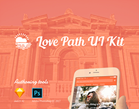 Love Path UI Kit Banner