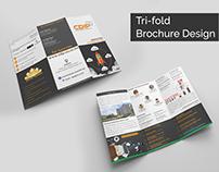 Tri-fold Brochure Design for CDIP
