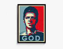 Noel Gallagher / Obey Giant Style