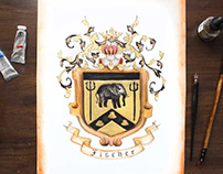 Elephant Coat of Arms