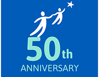 Parent Child Home Program 50th Anniversary Logo Design
