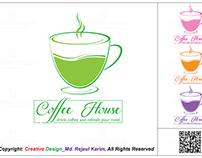 Coffee House Logo Design #01 January 2019