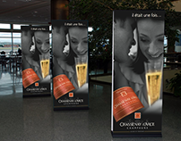 Visuel emblématique champagne