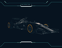 F1 Carbon Fiber Car (using cycles 4d )