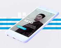Adidas - redesign app