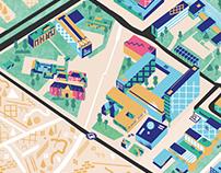 Campus Groningen Map