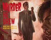Murder He Drew - Promo Image