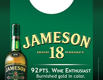 Jameson 18yr - Bottle Necker (Point of Sale)