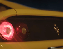 Ferrari F355 GTS Prague Night Ride