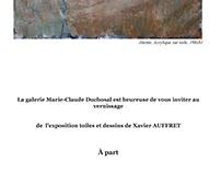 Exhibition XAVIER AUFFRET