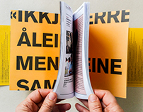 Norsk Litteraturfestival - Ny profil og markedsmateriel
