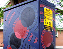 VOLUNTEERING:  Traffic Signal Box Art