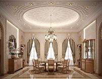 Islamic Interior Villa Qatar