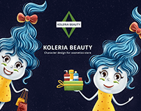 Character design for cosmetics store